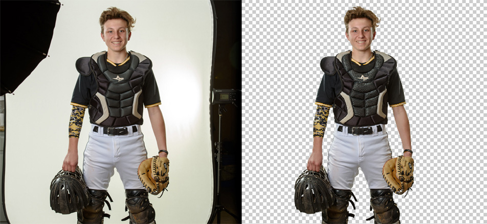 Photoshop Image Background Removal Services