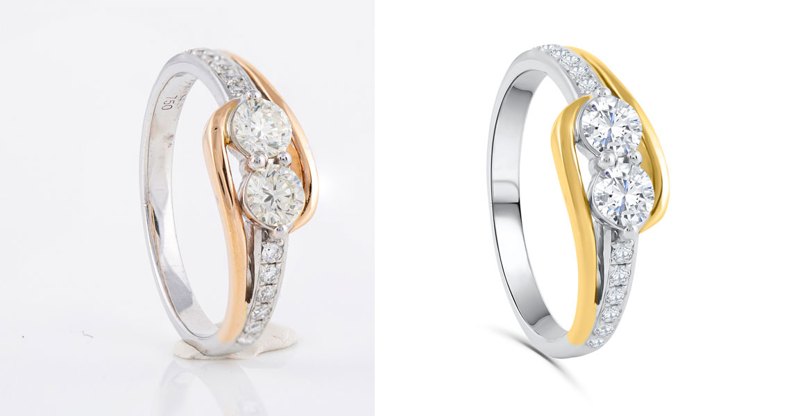 jewelry photography retouching service