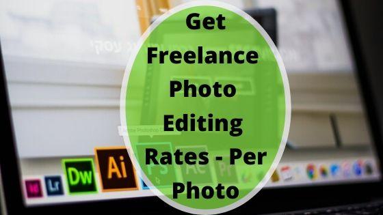 cheap freelance image editing rates